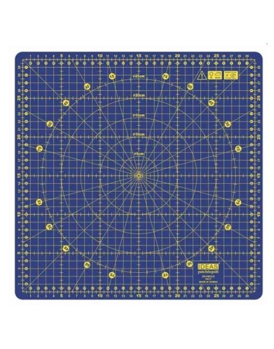 Base de corte Patchwork rotativa 32x32cm