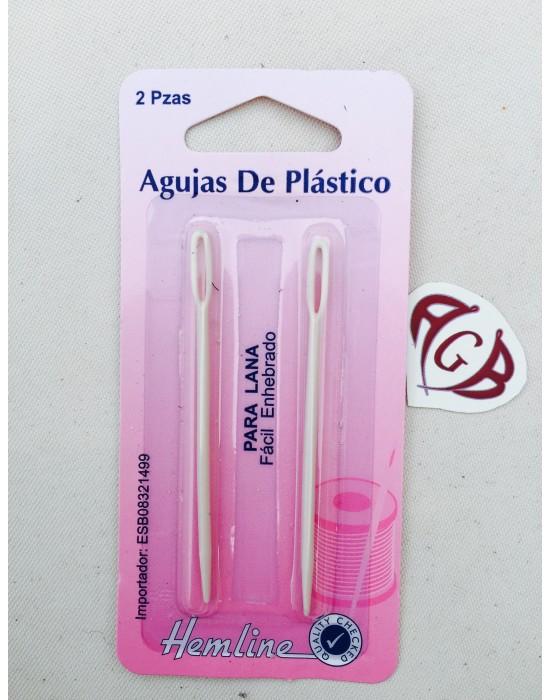 Agujas para Lana plástico