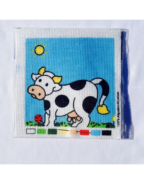Kit de labores infantil vaca