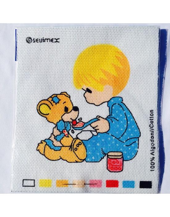 Kit de labores niño con oso