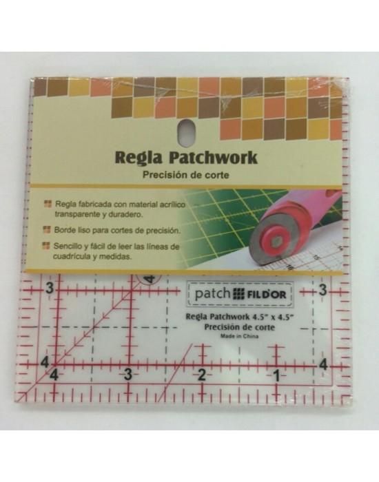 Regla patchwork  11,50cm x 11,50cm