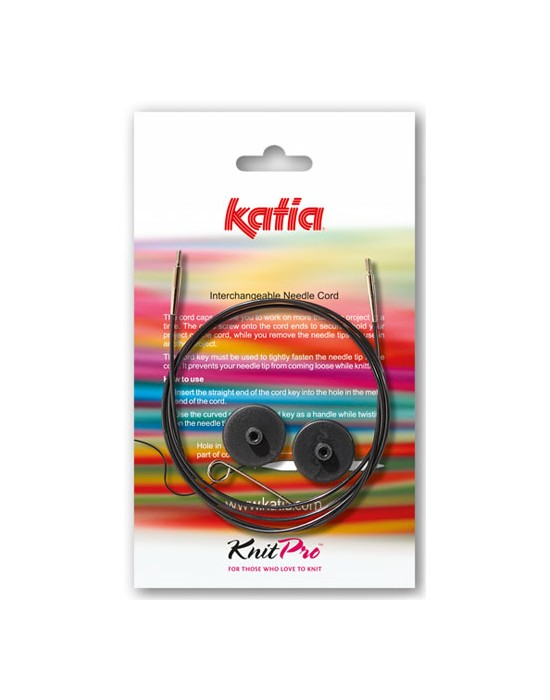 Katia Cable para agujas INTERCAMBIABLE