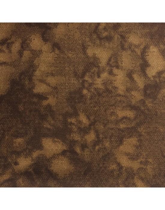 Tela marmoleada en marrón - 10 x 116 cm