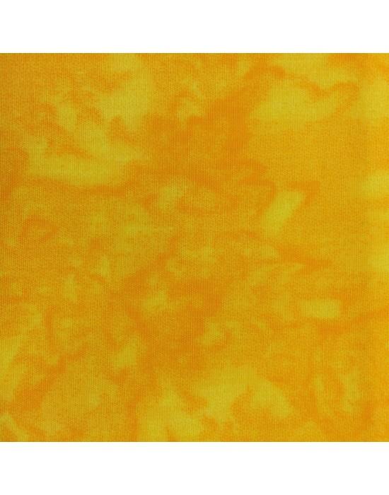 Tela marmoleada en amarillo - 10 x 116 cm