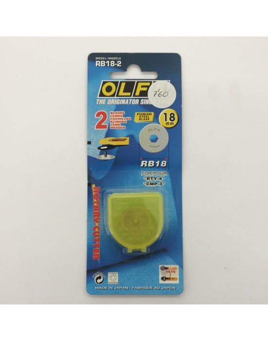 Cuchilla recambio cutter Olfa 18 mm