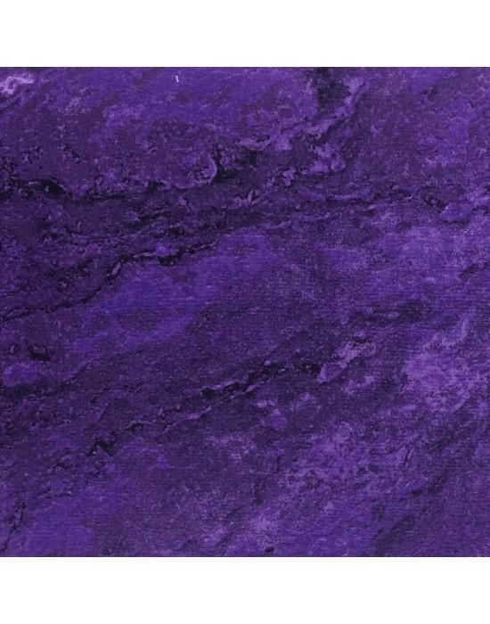 Tela marmoleada morada