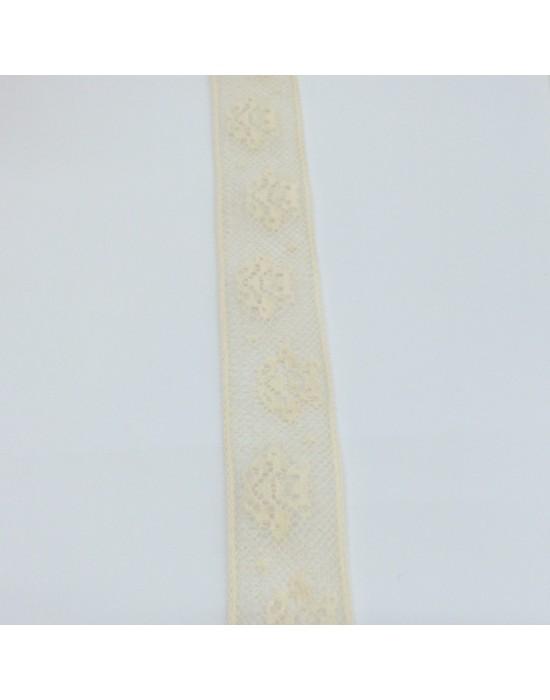 Puntilla beige -10 x 2 cm