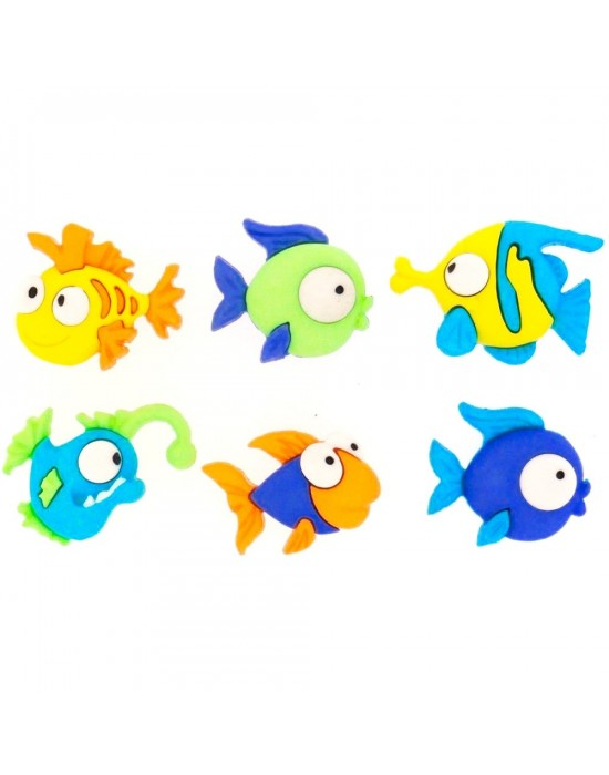 Botones Dress it up- Something Fishy
