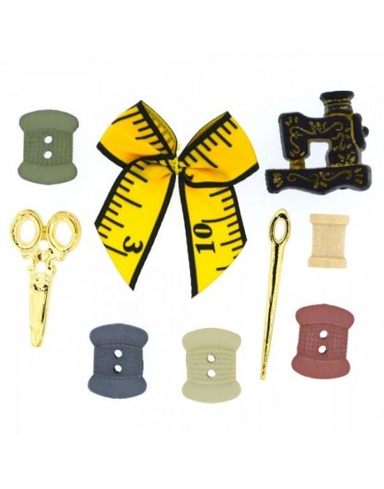 Botones Decorativos costura