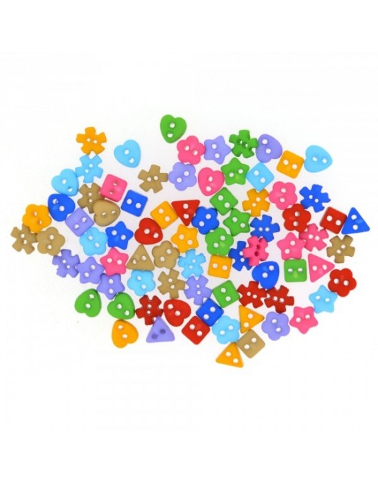 Botones Dress it up- Sew Thru Shapes Colorwheel!