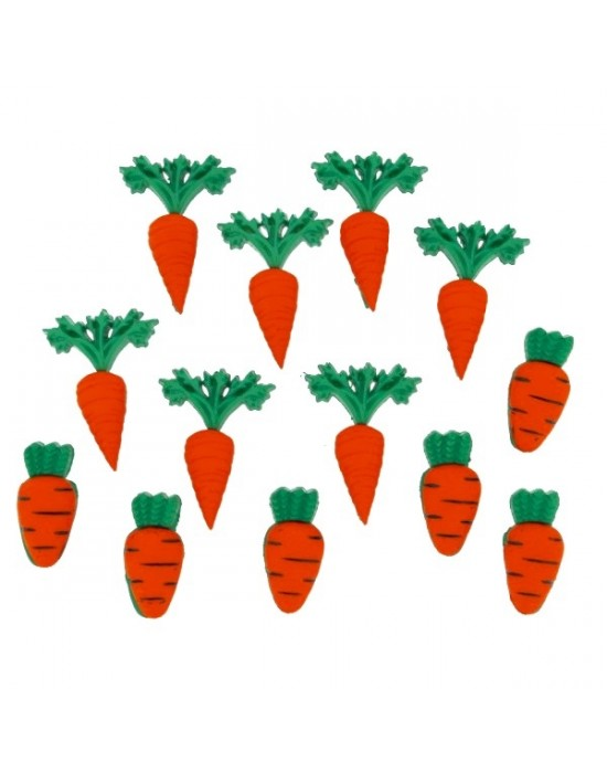 Botones Dress it up- Easter Carrot Crop
