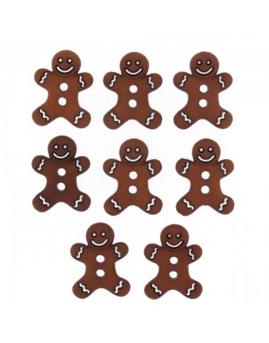 Botones Decorativos Galletas Navidad