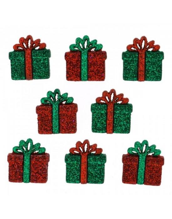 Botones Decorativos Navideños