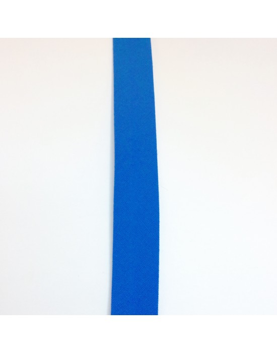 Cinta de biés Azul 18 mm