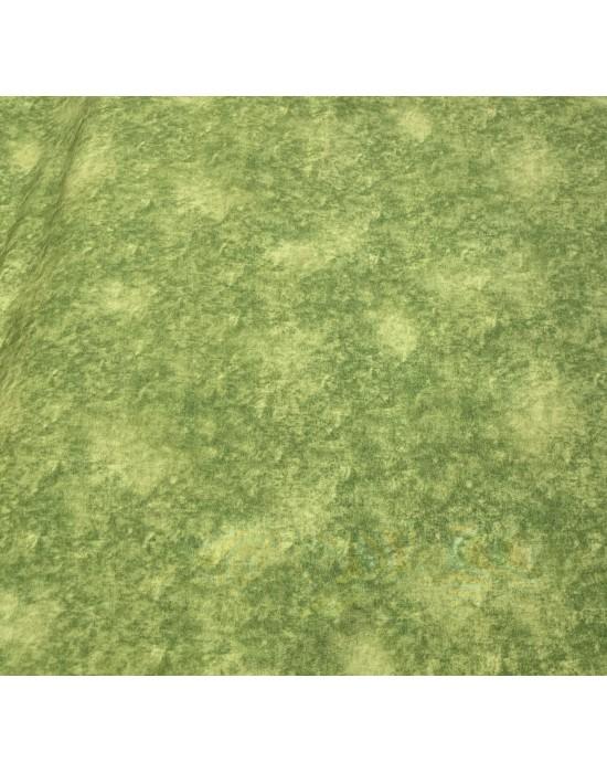 Tela patchwork marmoleada verde 10 x 150cm