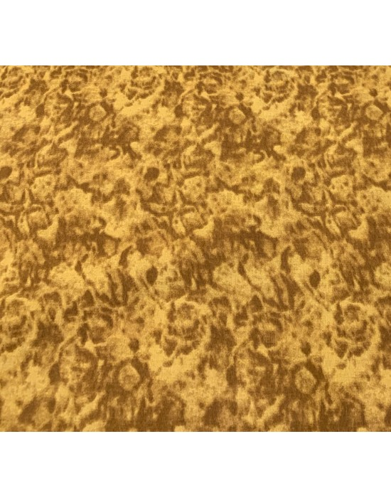 Tela patchwork marmoleada  marrón y ocre  10 x 150cm