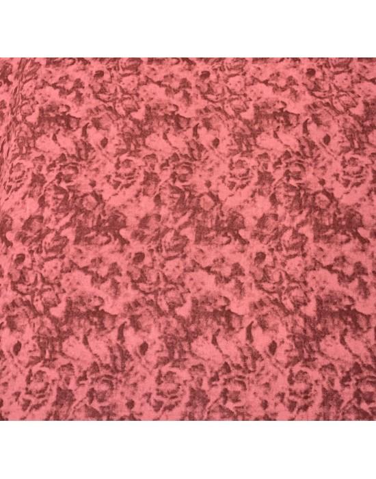 Tela patchwork marmoleada  Granate apagado 10 x 150cm