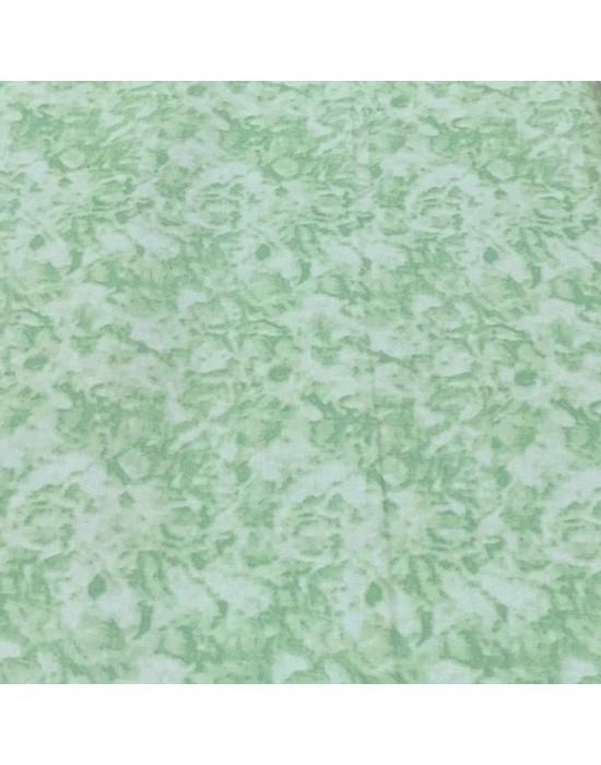 Tela patchwork marmoleada  Verde claro 10 x 150cm