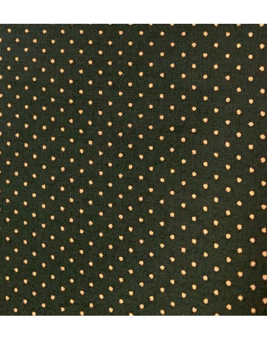 Tela Navidad Verde con motivos rojos 10 x 140