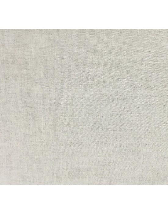 Tela lino liso natural - 10 x 160 cm