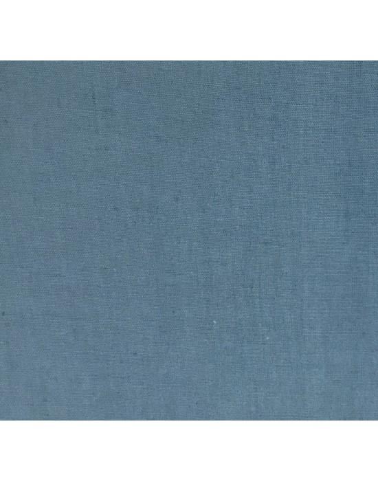Tela lino liso azul - 10 x 160 cm