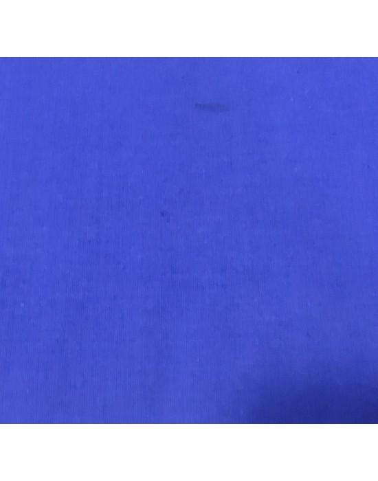 Tela lisa azuló - 10 x 110 cm