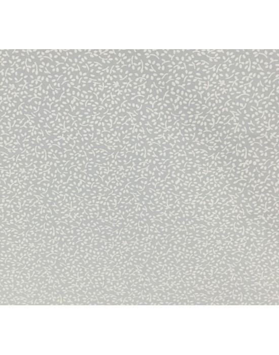 Tela difuminada blanco sobre blanco - 10 x 114 cm