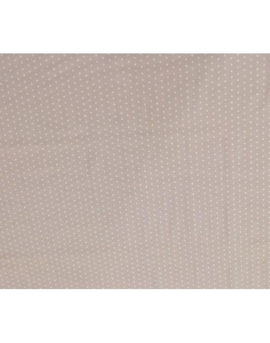 Tela con estrellas blancas sobre rosa  - 10 x 140 cm
